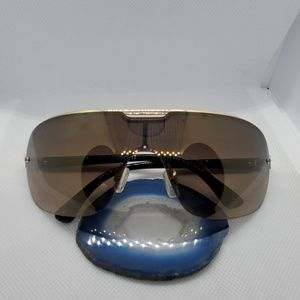 Rocawear Black & Gold Sunglasses